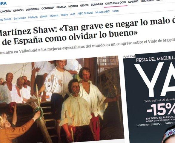 Entrevista a Carlos Martínez Shaw en ABC.es